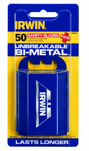 Knife Blades, 50 Pack (Irwin Safety Blade)