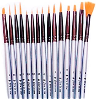 Amazon.comDetail Paint Brush Set12 Miniature Brushes for Art