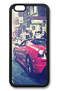 6 Plus Case, iPhone 6 Plus Case Ferrari F430 Urban Shot Creativity TPU Silicone Gel Back Cover Skin Soft Bumper Case Cover for Apple iPhone 6 Plus by mcsharksby Maris's Diary