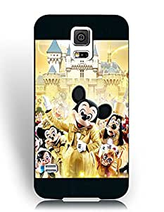 Samsung Galaxy S5 (I9600) Fundas, Personalized Solid Fundas, Famous All Disney Characters Collection Fundass for Team/Sport