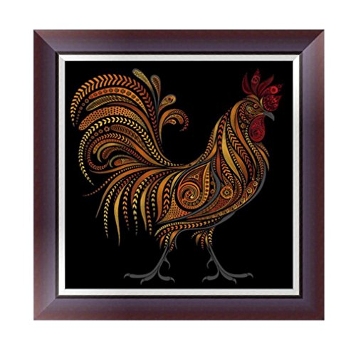 Botrong 5D Animals DIY Diamond Painting Embroidery Cross Craft Stitch Home Decor Art (30X30CM/12X12inch) (A) ()