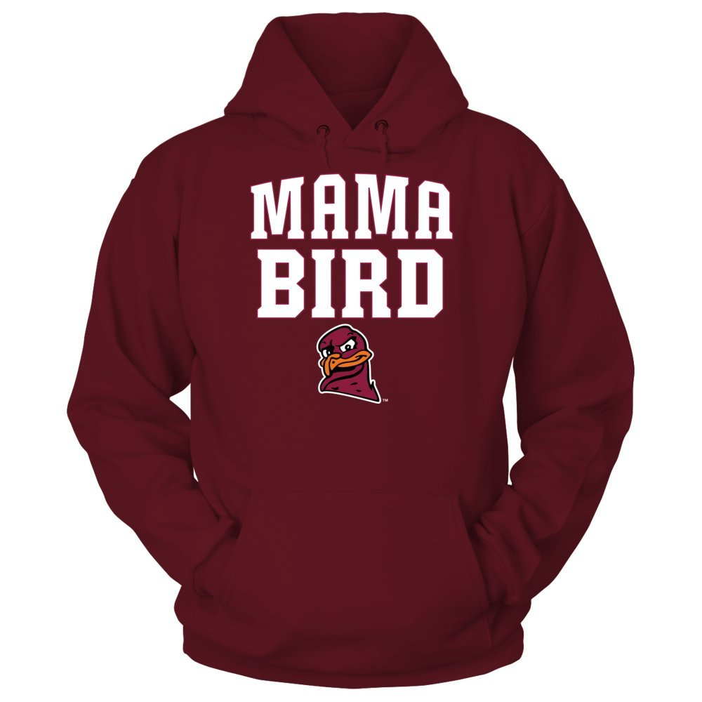 Mama Bird - Virginia Tech Hokies - Gildan Unisex Pullover Hoodie - Officially Licensed Fashion Sports Apparel