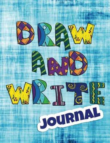 Draw And Write Journal: Creative Writing Drawing Journal For Kids (Half Page Lined Paper With Drawing Space)(8.5 x 11 Notebook)(V5)