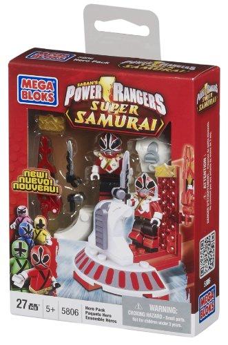 Mega Bloks Power Rangers Samurai Red Hero Pack