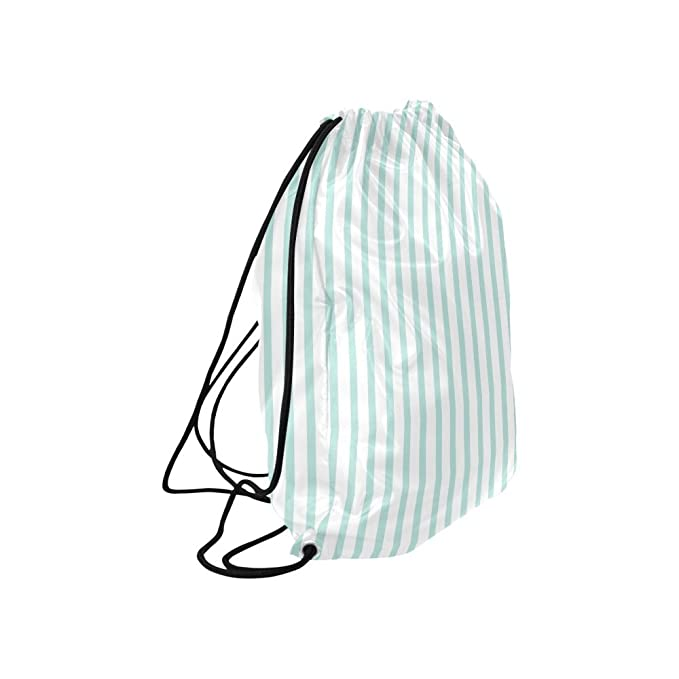 5c462697b9f0 Amazon.com: INTERESTPRINT Abstract Fashion Mint and White Stripes ...