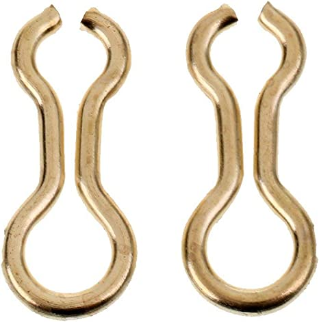 L Brass Long Sinker Eyes Eyelets for Lead Weight Molds M 100Pc Fishing S