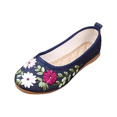 CHNHIRA Neu Damen Old Beijing China National Schuhe(EU 36 Weiszlig;)