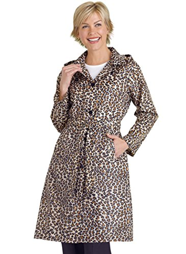 Packable Raincoat (Leopard Raincoat)