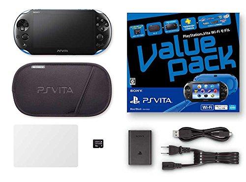 PlayStation Vita Value Pack Wi-Fi Blue/Black