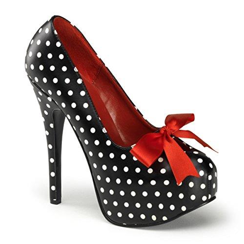 Pinup Couture Teeze-12-5 - sexy zapatos de tacón alto mujer plataforma - tamaño 36-42, US-Damen:EU-37 / US-7 / UK-4