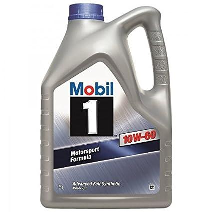 Mobil 1 Extended Life 10W-60 Aceite de motor: Amazon.es ...