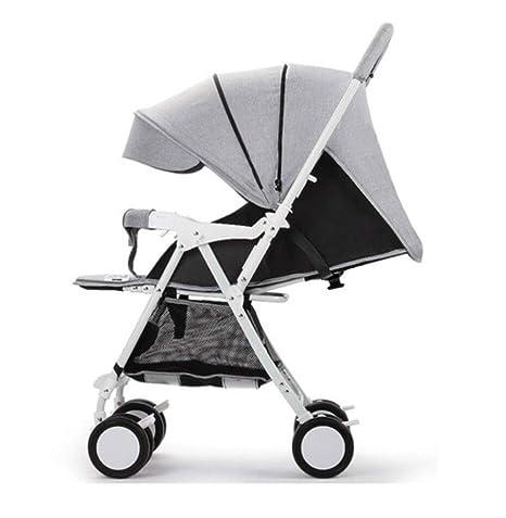 carrito de bebé- Se puede sentar y tumbar Plumón ligero y ...