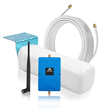 ANYCALL Amplificadores de Señal 3G WCDMA 2100MHz gsm 900MHz Repetidor de Señal del teléfono Móvil Amplificador de Señal gsm + Antena con Cable de 15m