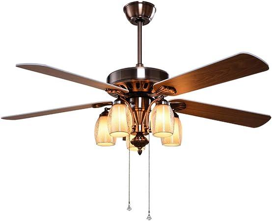 Ventilador de techo Luz del Ventilador del Comedor Antiguo Luz del ...