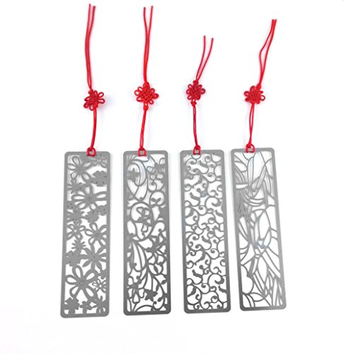 yueton Classical Hollow Bookmark Knotting