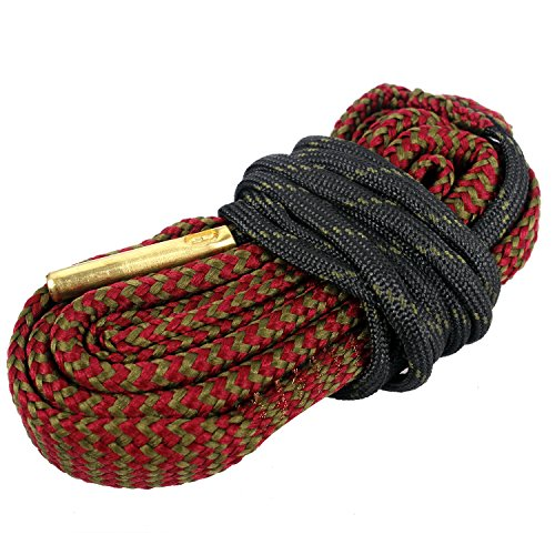Unigear Gun Bore Cleaner Snake for Rifle Pisto Shotgun (.243 Cal & 6mm)