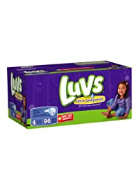 Luvs With Ultra Leakguards Big Pack Size 4 Diapers 96 Count BOBEBE Online Baby Store From New York to Miami and Los Angeles