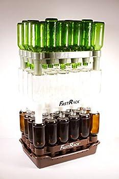 Fastrack HOZQ8-1423 Beer Bottle Rack, White