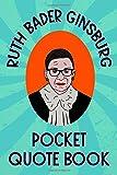 Ruth Bader Ginsburg Pocket Quote Book: Notorious