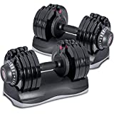 Merax Deluxe 71.5 Pounds Adjustable Dial Dumbbell (Pair Set)
