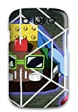 Galaxy S3 Yugioh Arc V Duel Disk Print High Quality Tpu Gel Frame Case Cover