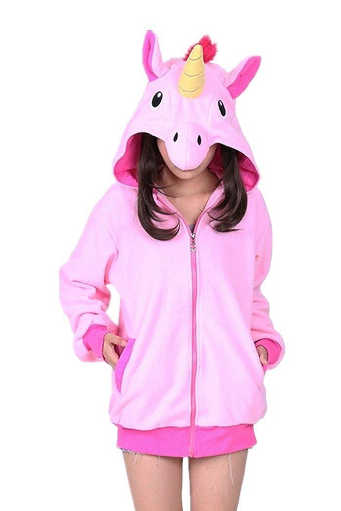 WOTOGOLD Animal Cosplay Costume New Blue Pink Hoodies Adult Hoody APPhoodie040