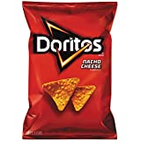 Nacho Cheese Tortilla Chips, 2.875 Oz Bag, 28/carton