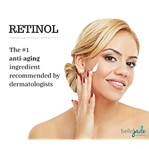 Retinol Moisturizer Cream for Face and Eyes, Use Day & Night - Best Natural & Organic Ingredients for Anti Aging, Wrinkles, and Pore Tightening – with Hyaluronic Acid, Vit E, Shea Butter & Jojoba Oil