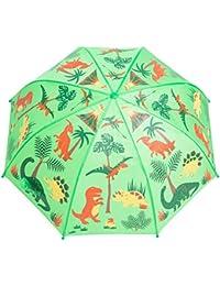 Kids Umbrella - Childrens 18 Inch Rainy Day Umbrella - Dinosaurs