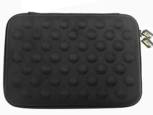 AZ-Cover 10-Inch Tablet Semi-rigid EVA Bubble Foam Case (BLACK) For American Pumpkins 10.1