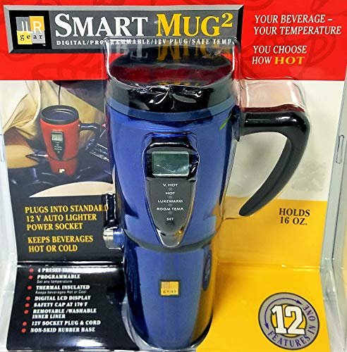 JLR Gear 12 Volt Retro Style Auto Mug (Colors May ()