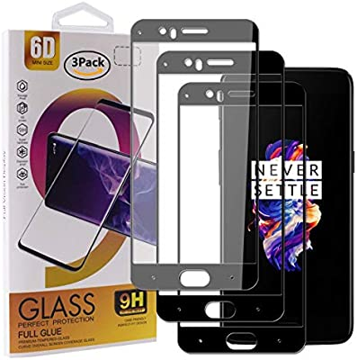 Guran [3 Paquete Protector de Pantalla para Oneplus 5 Smartphone ...