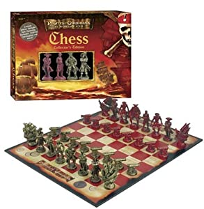 Pirates of the Caribbean: At World's End Collector's Edition Chess Set