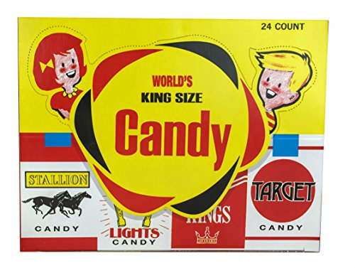 World Confections Candy Cigarettes, Pack of 24 -