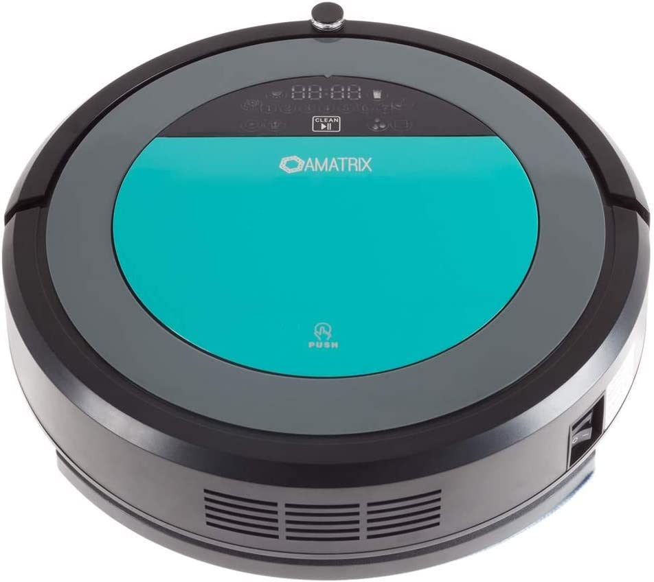 Amatrix Robotic Dual Vacuum Cleaner and Mop Cleaner V600