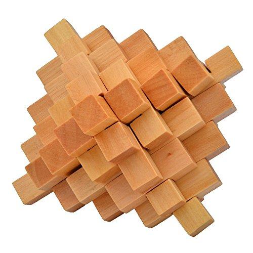 apple Balls Wooden Cube/educational Toy Wooden Puzzle Set,kong Ming/luban Lock (Megamix Set)