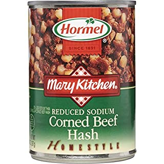 Hormel Mary Kitchen Reduced Sodium Corned Beef Hash, 14 Ounce