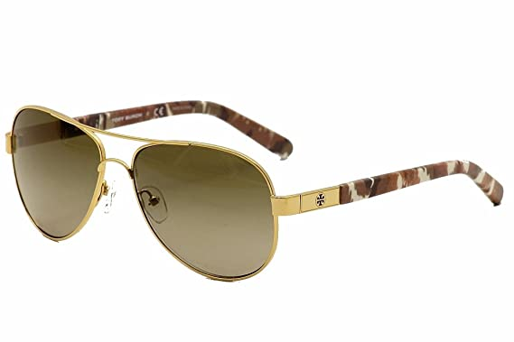 0986c57e2b9c Amazon.com: Tory Burch Sunglasses TY 6010 GOLD 362/13 TY6010: Tory ...