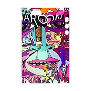 C-EUR Cell phone Protection Cover 3D Case Maroon 5 For Iphone 5,5S