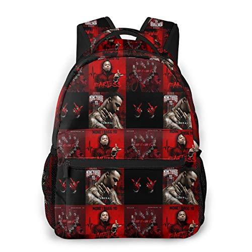 8byeliu 3D Print Money Bag-Gyo Casual Backpack,Multifunctional Schoolbag Knapsack Rucksack