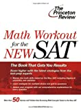 Math Workout for the SAT, Princeton Review Staff, 037576433X