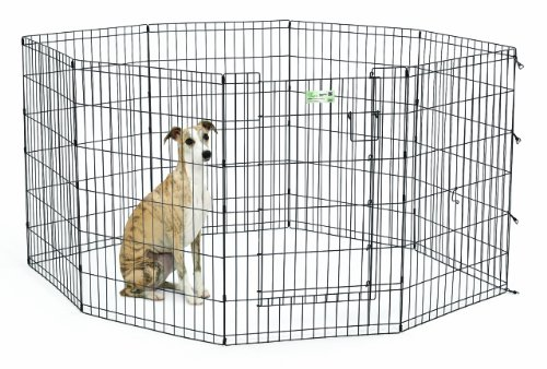 Large Midwest Life Stages - MidWest Homes for Pets MaxLock Exercise Pen for Pets
