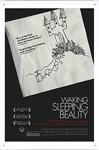 Amazon.com: Arte de Pared de metal trabajo cine lata Póster ...