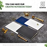 Composition Notebook Dotted – Hardcover Book with Bullet and Drawing Features, A5 Size 8.2 x 5.8 inch,100gsm Paper,160 Sheets/320Pages