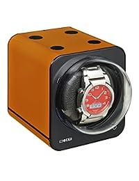 Boxy Single Fancy Stack-able Watch Winder - Orange