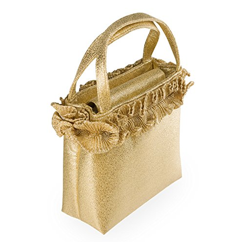 90024 Clutch Gold Farfalla Gold Womens 6E5xnn0qB8