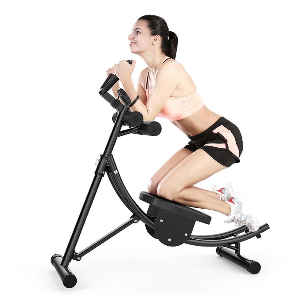 腹筋器具 腹部とカーディオトレーナーFitmaxトレーナーホームトレーナーフィットネストレーナートレーニングウエスト運動フィットネス機器 (Color : Black, Size : 109 * 36 * 123cm) 109*36*123cm Black B07J5JW2JZ