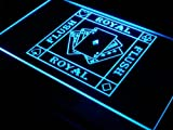 Royal Flush Poker Casino Ace Bar LED Sign Neon Light Sign Display i938-b(c)