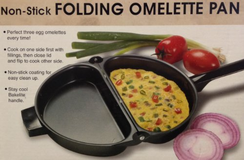 Non-stick Folding Omelette Pan