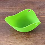 OYTRO Silicone Egg Poacher Cup for Cooking Eggs Microwave Egg Cooker Poach Pods Tool Garment Steamers